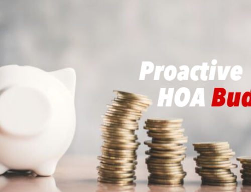 Being Proactive with Your HOA's Budget