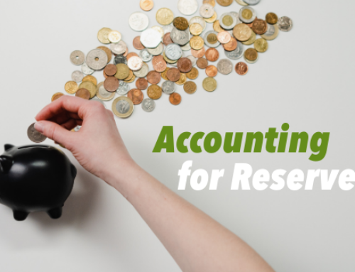 Accounting for Reserves