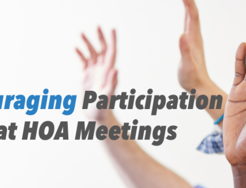 How to Encourage Participation at HOA Board Meetings