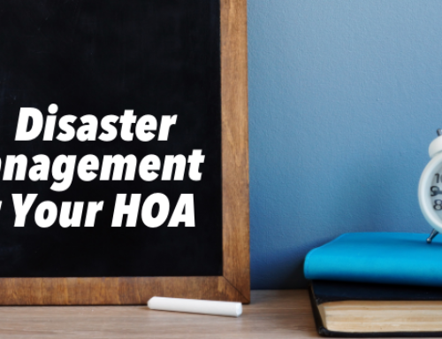 How to Handle Disaster Management for Your HOA